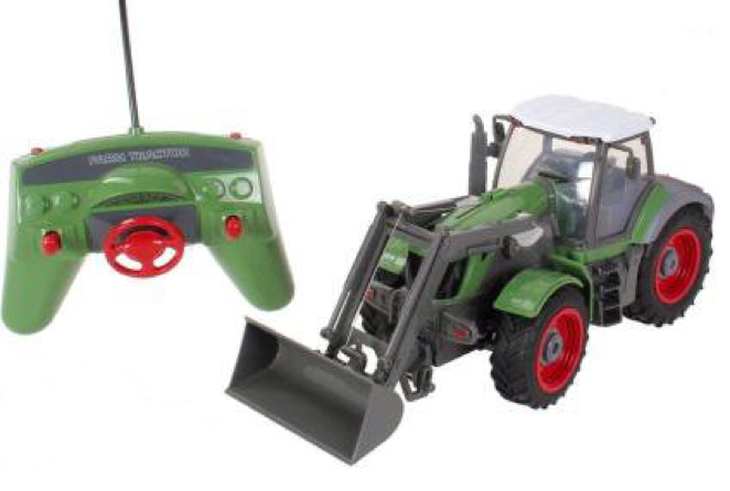 5 Channel Full Function Radio Control RC Big Farm Tractor With Front Loader 128 Scale Must Have