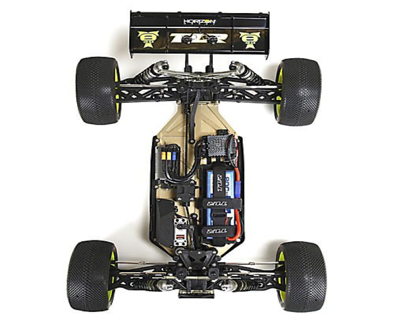 Inside a Radio Controlled Car